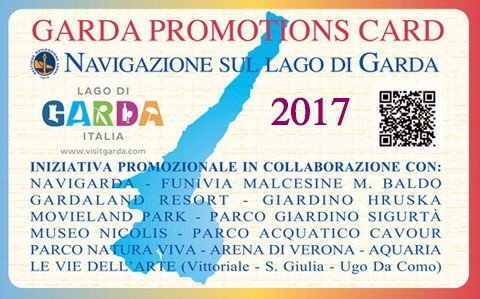 GARDA PROMOTIONS CARD